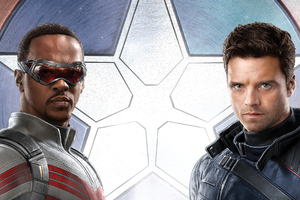 The Falcon And The Winter Soldier 4k Wallpaper