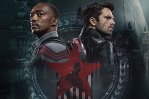 The Falcon And The Winter Soldier Tv Series Fanart 4k