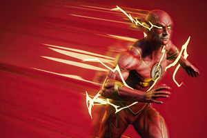 The Fan Art Of Flash 4k Wallpaper