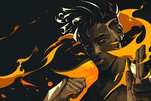 The Firestarter The Phoenix Valorant Game 4k