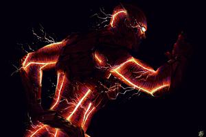 The Flash Arts Wallpaper