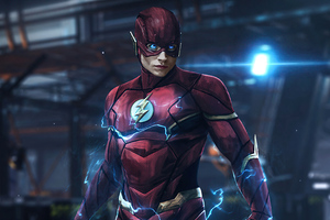 The Flash Erza Miller 4k Wallpaper