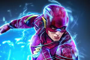 The Flash Fanart 4k Wallpaper