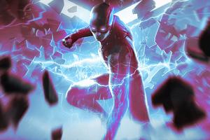 The Flash Justice League 4k