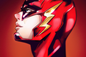 The Flash Mangaish Wallpaper
