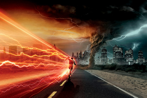 The Flash Run Wallpaper
