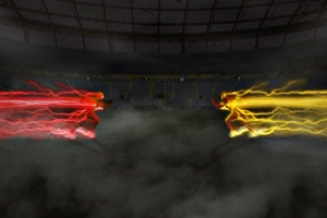 The Flash Vs Reverse Flash Wallpaper
