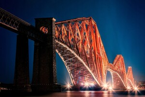 The Forth Bridge Edinburgh Wallpaper