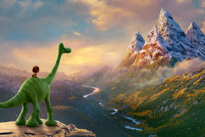 The Good Dinosaur 10k Wallpaper