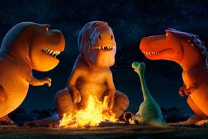 The Good Dinosaur 2 Wallpaper