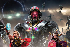 The Guardians Of The Multiverse What If 4k Wallpaper