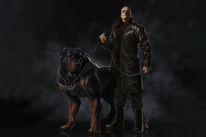 The Hound Of Hell Enforcers Wallpaper