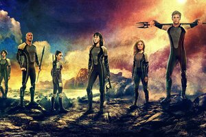 The Hunger Games Catching Fire Movie Wallpaper