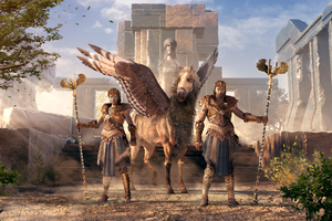 The Hunters Assassins Creed Odyssey Wallpaper