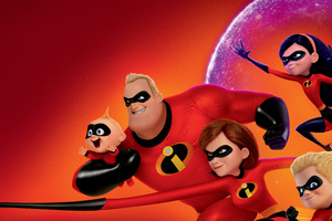 The Incredibles 2 10k Poster