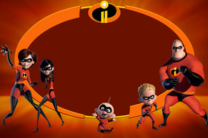 The Incredibles 2 5k Movie