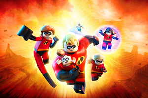 The Incredibles 2 Lego
