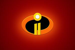 The Incredibles 2 Logo 4k