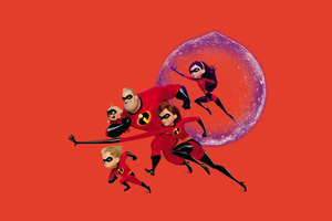 The Incredibles 2 Movie Poster 4k Wallpaper
