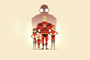 The Incredibles 2 Poster 4k