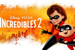The Incredibles 2 Poster New