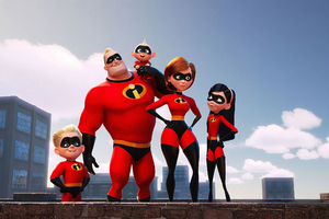The Incredibles 2 Team Wallpaper