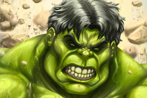 The Incredibles Hulk Art 4k