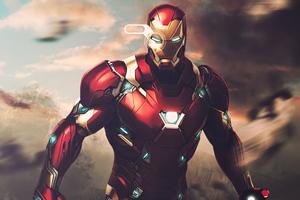 The Iron Man Poster 4k Wallpaper