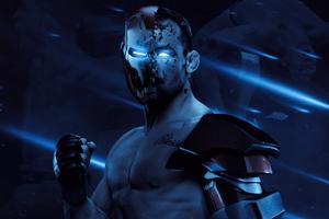 The Iron Michael Chandler UFC Poster 5k Wallpaper