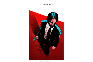 The John Wick 4k Wallpaper