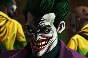 The Joker Happy Smile 4k