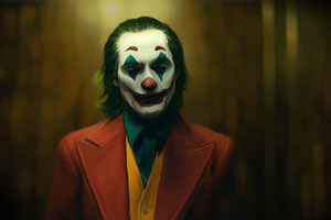 The Joker Joaquin Phoenix Art New Wallpaper