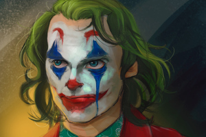 The Joker Joaquin Phoenix Art