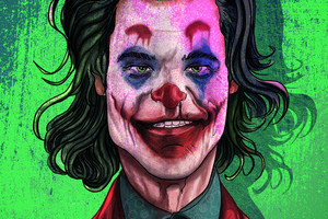 The Joker Joaquin Phoenix Artwork