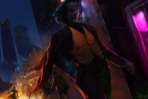 The Joker Joaquin Phoenix Dark