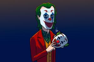 The Joker Mask Out 4k