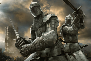 The Knights Templar 10k Wallpaper