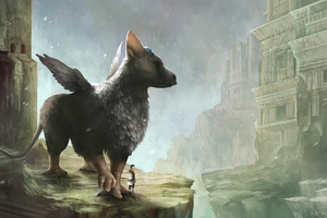The Last Guardian Game Art 4k Wallpaper