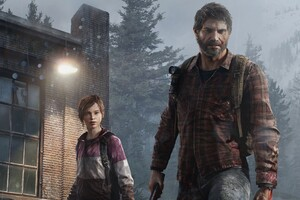 The Last Of Us Joel Eliie Wallpaper