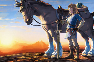 The Legend Of Zelda Artwork Wallpaper