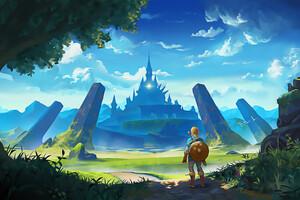 The Legend Of Zelda Breath Of The Wild Artworks Wallpaper