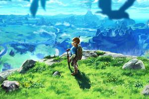 The Legend Of Zelda Breath Of The Wilk 2017 Game