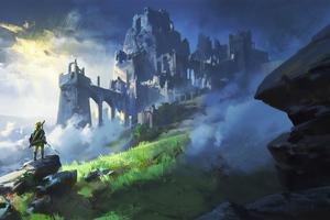 The Legend Of Zelda Breath Of Wild Game 4k Wallpaper
