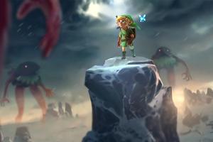 The Legend Of Zelda Game Art 4k Wallpaper