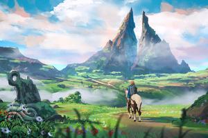 The Legend Of Zelda Nature 4k Wallpaper