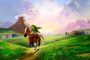 The Legend Of Zelda Ocarina Of Time 3D Wallpaper
