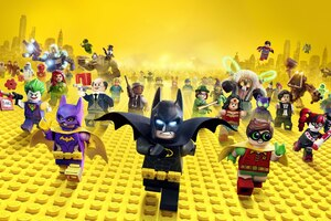 The Lego Batman 4k