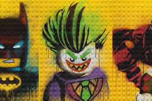 The Lego Batman Harley Quinn And Joker Wallpaper