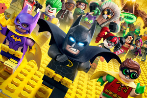 The Lego Batman Wallpaper