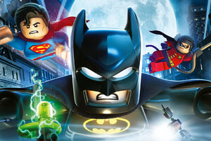 The Lego Batman Superman And Robin Wallpaper